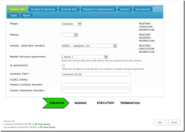 SharePoint Forms Options