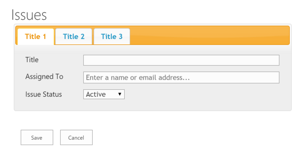 Tabify your SharePoint Forms – MarkRackley net